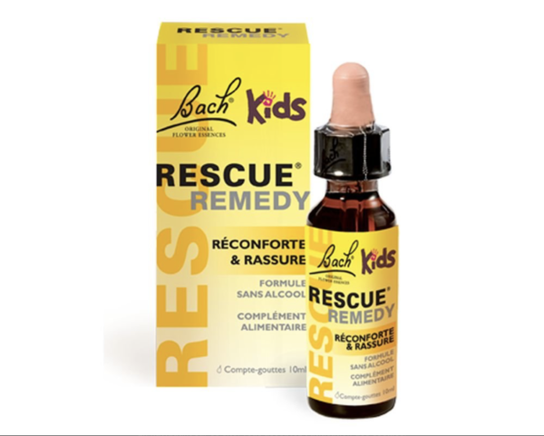 Fleurs de Bach - Rescue® Kids (sans alcool) - Véronique Massard - Alchimiste Emotionnelle - Rescue® spécial enfants, sans alcool, pour toutes les situations de stress au quotidien